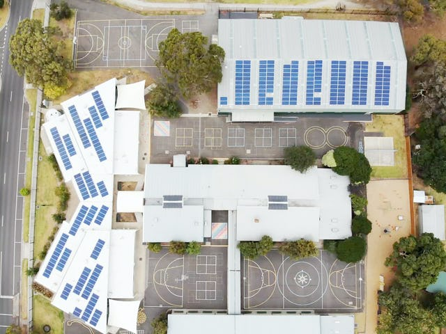 Planet Ark Power solar installation at Cranbourne Park Primary School