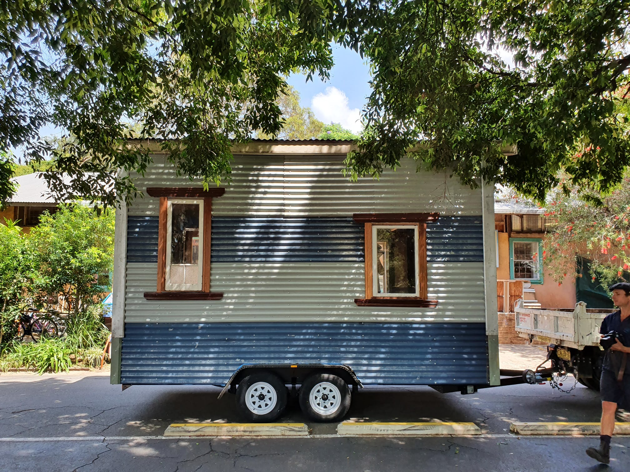 Completed tiny house.