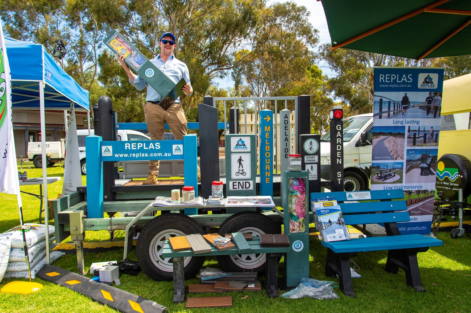 Photographs courtesy of the City of West Torrens and John Kruger.