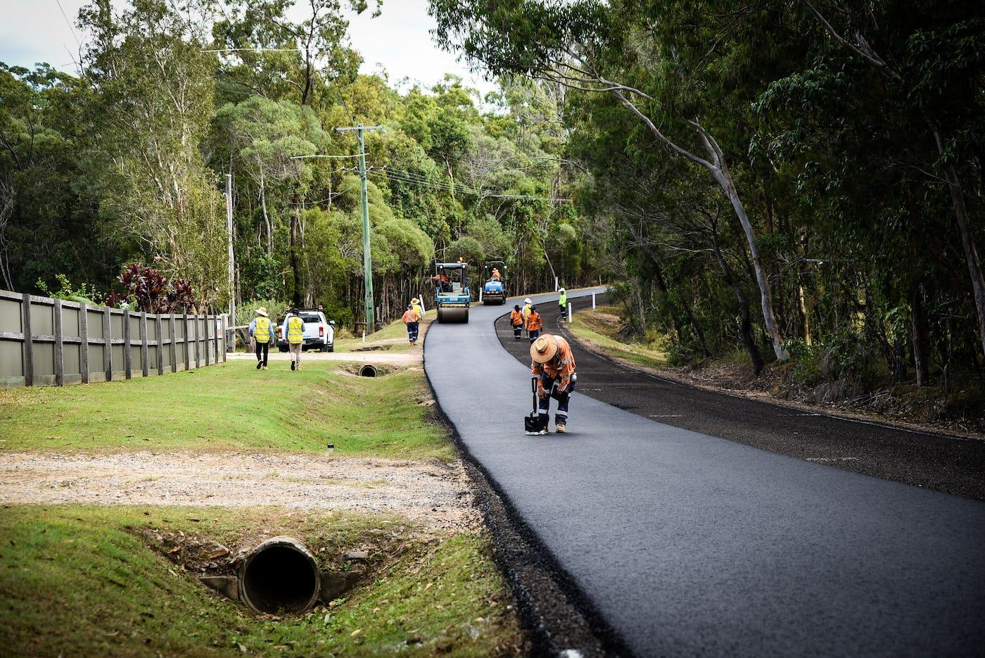 Logan City Council using tyre-derived roadbase