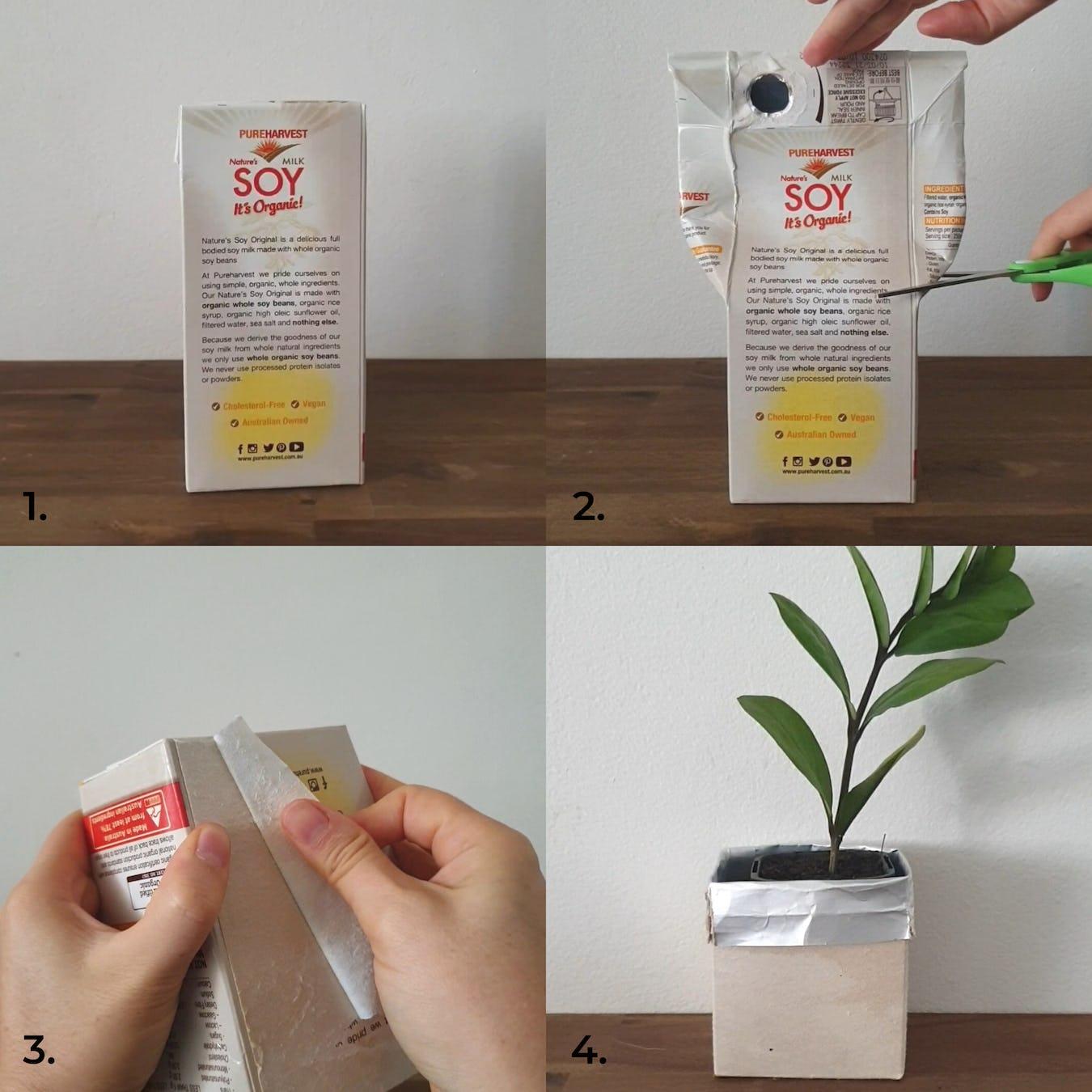 Tetra Pak planter