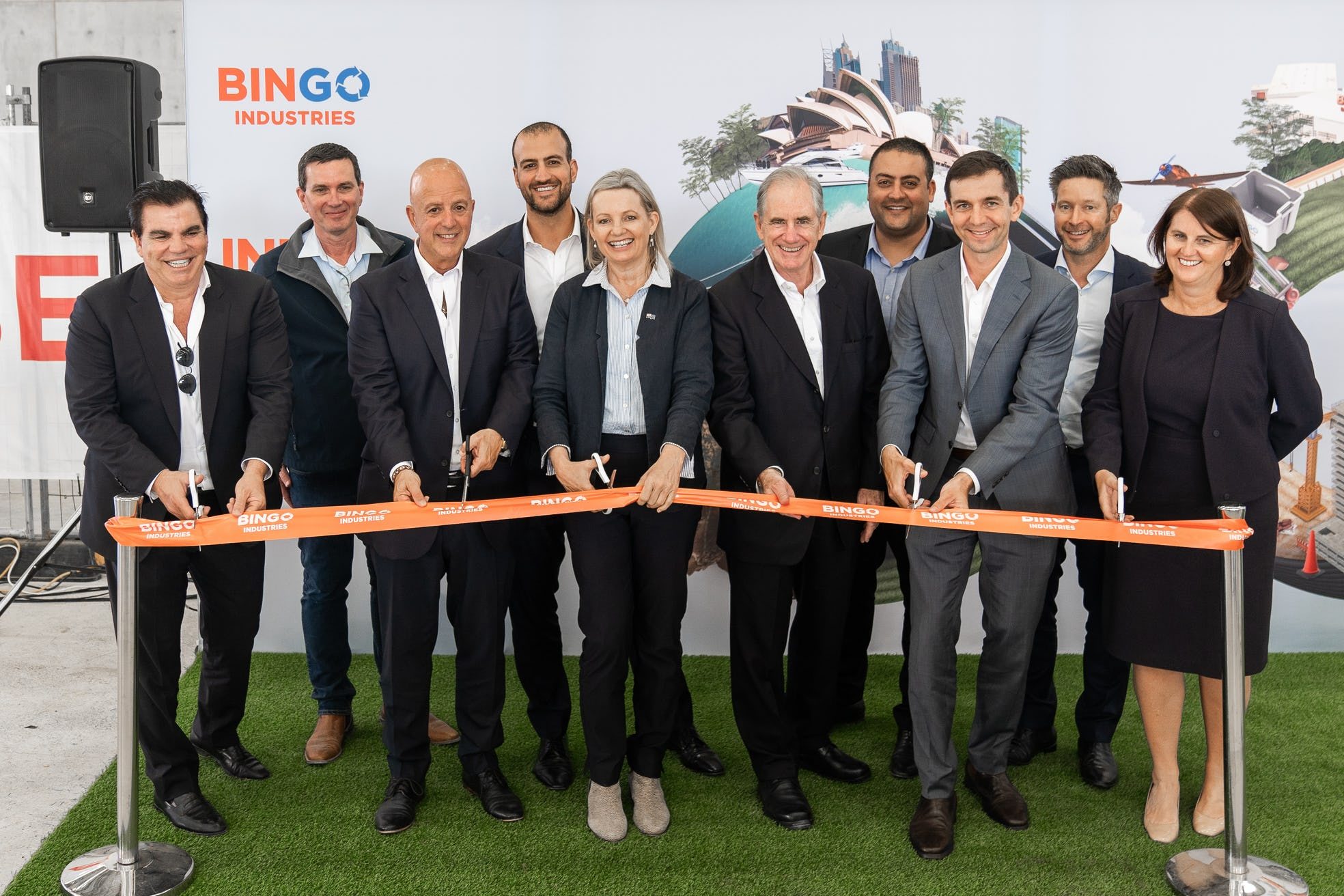 Launch event of BINGO's MPC2 Eastern Creek Recycling Ecology Park