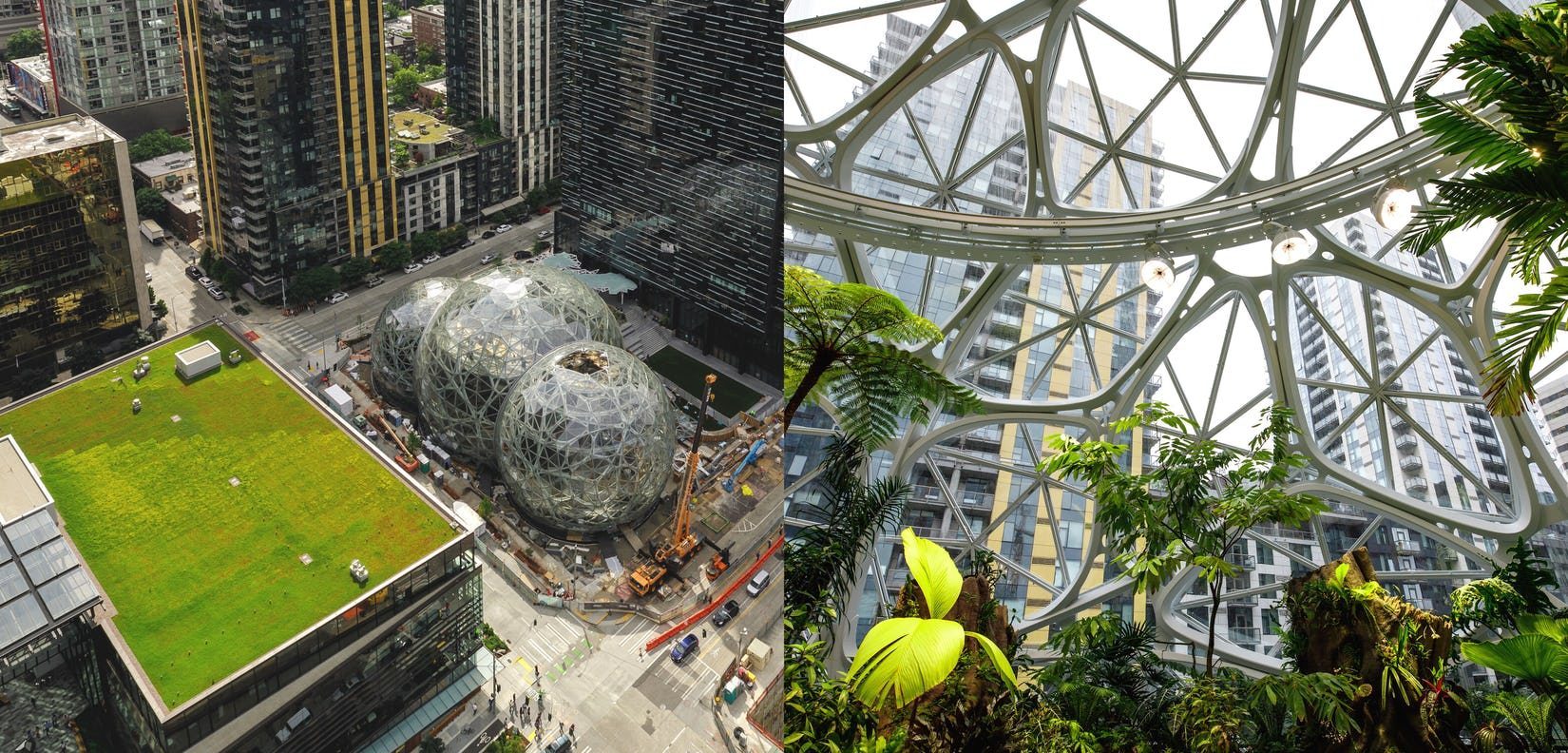 The Spheres, Seattle, USA