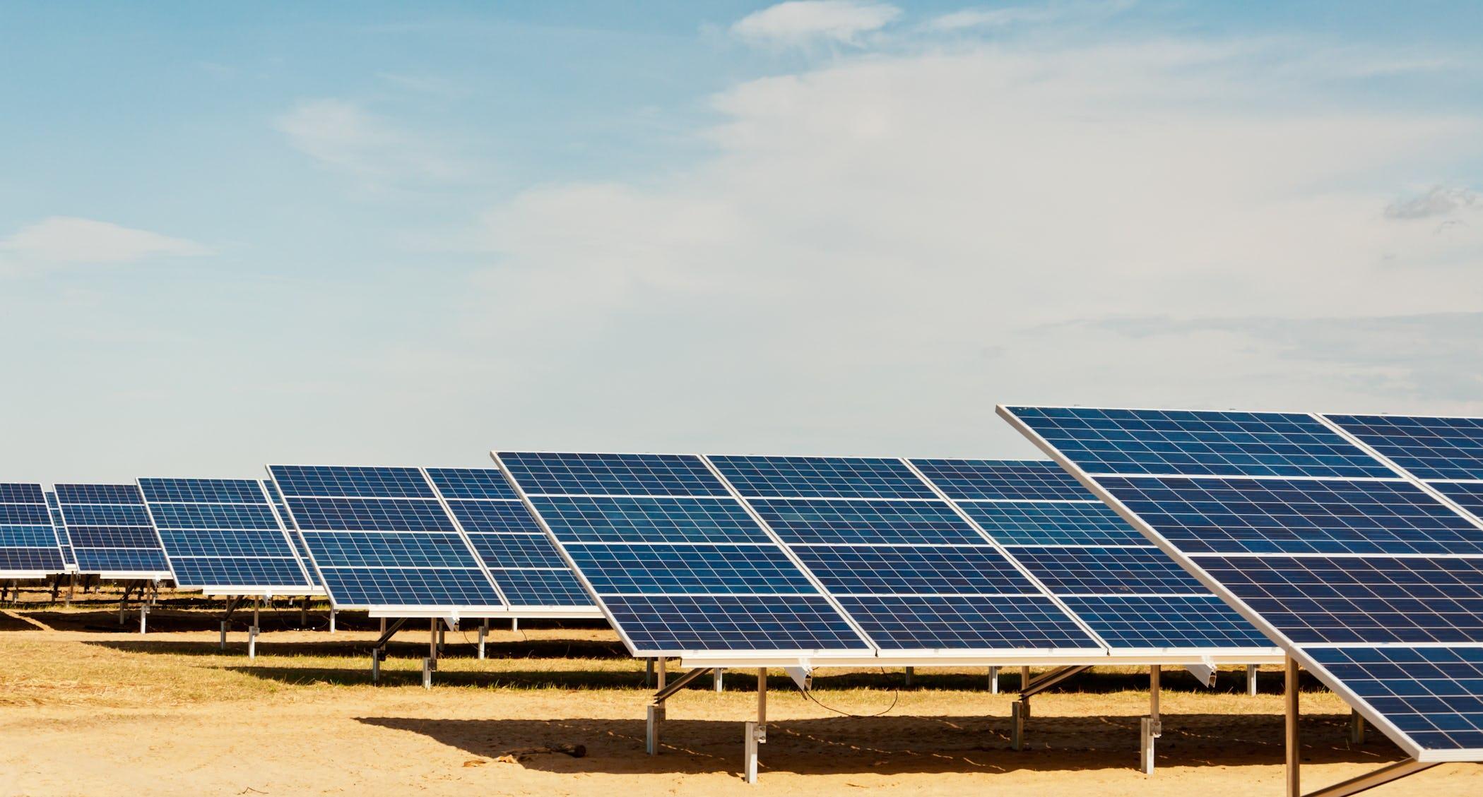 Carbon Neutral - Solar Panels
