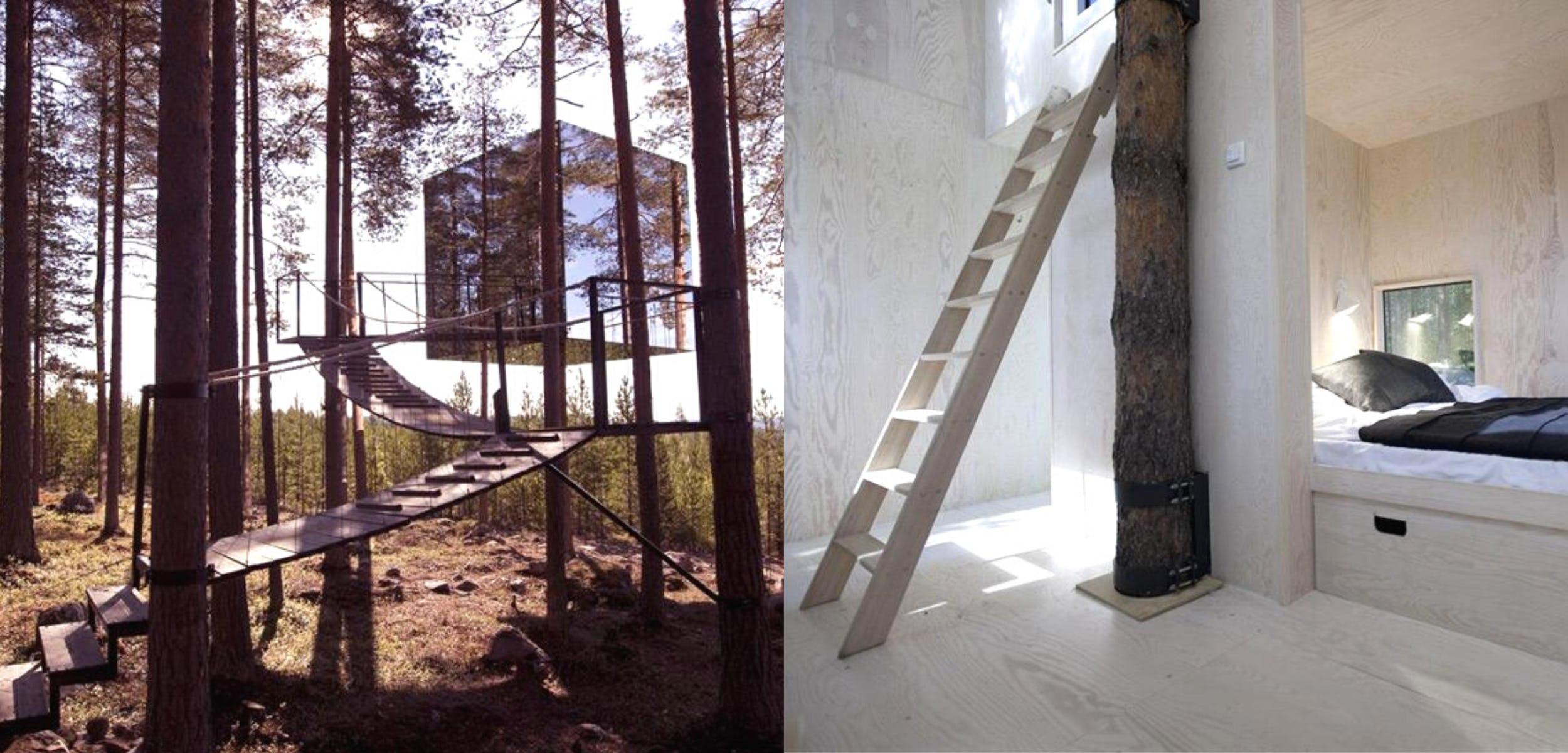 Mirrorcube, Harads, Sweden
