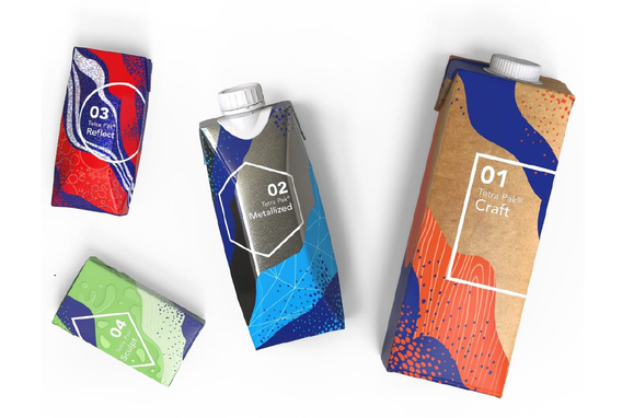 Tetra Pak containers.