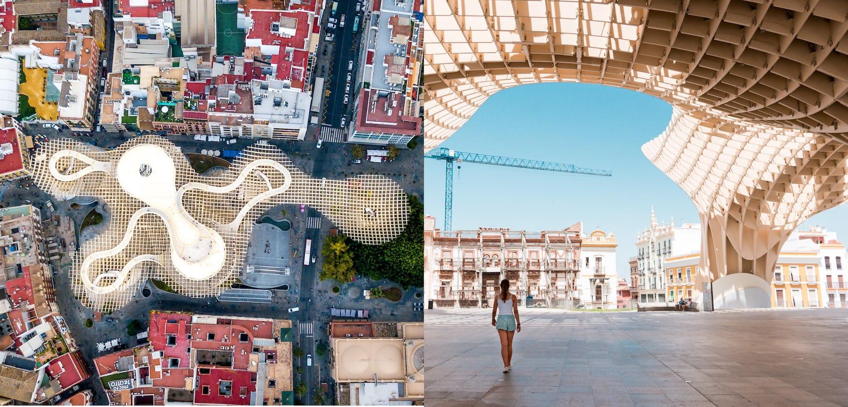 The Metropol Parasol, Seville, Spain