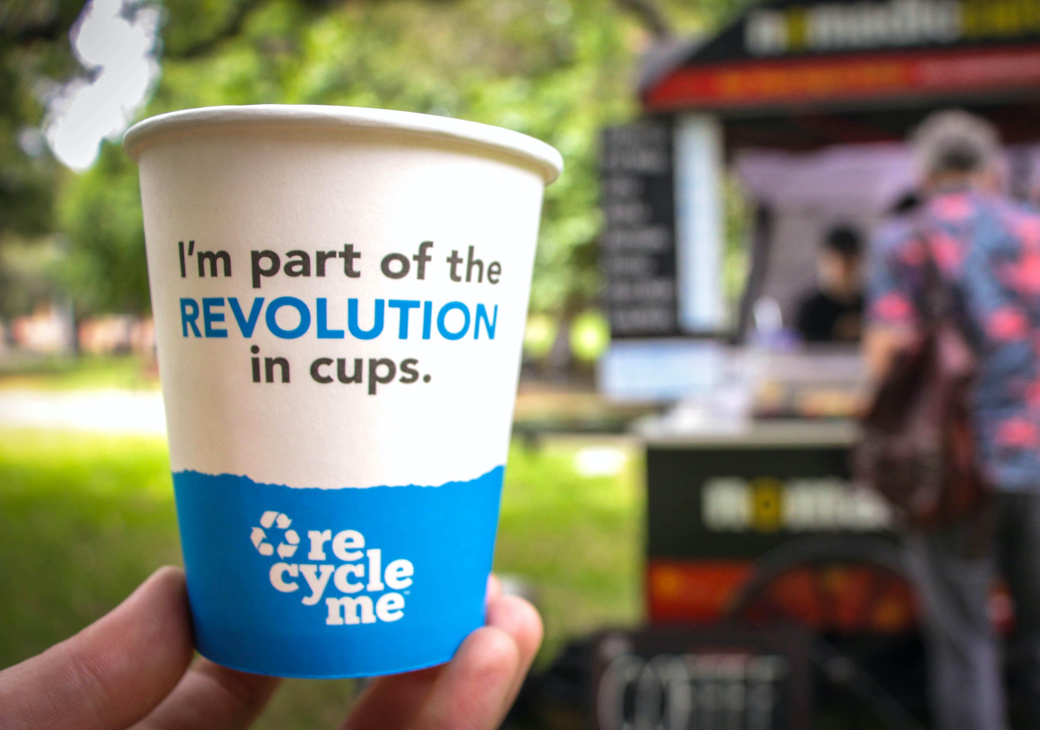 RecycleMe coffee cup